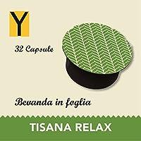Capsule compatibili con le macchine Nescafè dolce gusto - TISANA RELAX - Confezione da 32 capsule.