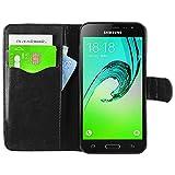 ebestStar - pour Samsung Galaxy J3 2016 SM-J320F - Housse Coque Etui Portefeuille Support PU Cuir + Film protection écran...