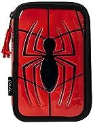 ¡Los niños merecen lo mejor, por eso te presentamos Plumier Triple Spiderman 8492 Rojo, ideal para quienes buscan productos de calidad para los más peques! ¡Consigue Spiderman y otras marcas y licencias a los mejores precios!Poliéster: 100 %M...
