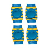 #9: Mee Mee Soft Baby Knee Elbow Pads, Blue (Pack of 2)