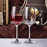 XBJBPL Rotweingläser Sektgläser Rotweinglas,Bleifrei Klar Kristall 412Ml Trinken Rotweinglas Set 2St, 412Ml