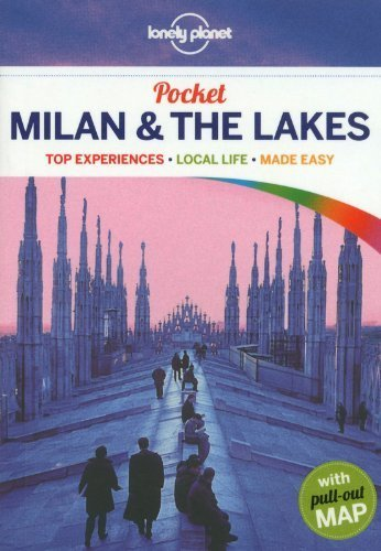 Lonely Planet Pocket Milan & the Lakes (Travel Guide) by Lonely Planet, Hardy, Paula (2013) Paperback