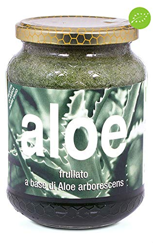 Succo BIO Bio di Aloe arborescens frullato fresco Ricetta classica Padre Zago