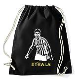 Art T-shirt, Zaino Sacca Paulo Dybala Juventus, Nero