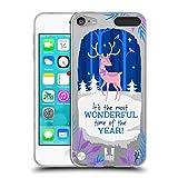 Head Case Designs Winter Reindeer Joyful Christmas Soft Gel Case for Apple iPod Touch 5G 5th Gen