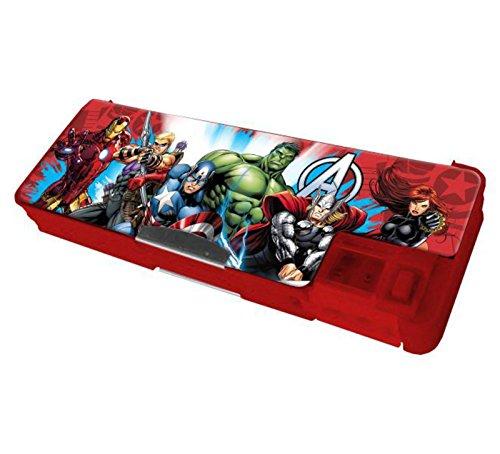 Avengers-Estuche escolar magnético con sacapuntas The Avengers Assemble de 2015