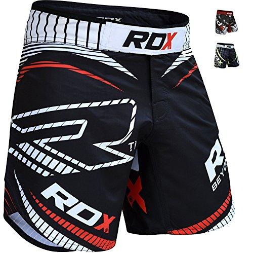 RDX MMA Short d'Entraînement Grappling Kick Boxe Arts Martiaux Free Fight UFC Cage Combat