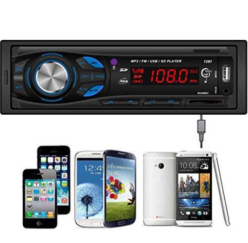 Tongshi En el tablero de coches Audio Unidad Principal Estéreo MP3 / USB / SD / AUX / FM