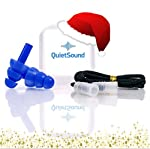 Set includes 1 storage container, 1 pair of ear plugs and 1 cord for FREE. What Makes Us Different? QuietSound multiple-use earplugs use advanced manufacturing technology to deliver a revolutionary combination of all-day comfort and easy handling. Th...