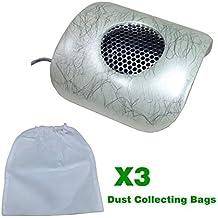 Belle Aspirador de polvo / Eléctrico el polvo colector para uñas manicura pedicura con 3 bolsas de recogida de polvo