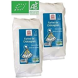Farine de Châtaignes BIO - Lot de 2 Paquets de 500 g