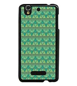 Colourful Pattern 2D Hard Polycarbonate Designer Back Case Cover for YU Yureka :: YU Yureka AO5510