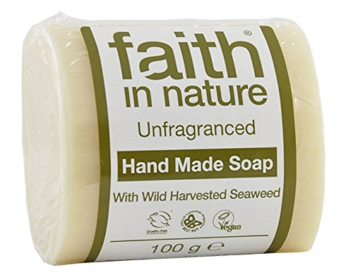 1-x-100-g-bar-of-faith-in-nature-soap-unfragranced-seaweed-plus-1-inspirational-fridge-magnet