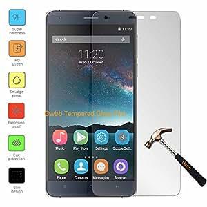 Owbb Protection écran en Verre Trempé pour OUKITEL K6000 5.5 pouce 4G Smartphone Films de protection Transparents Ultra Clear