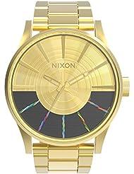 Nixon Herren-Armbanduhr Analog Quarz Edelstahl A356SW2378-00