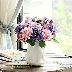 Flores Artificiales 8 Cabezas de Rama 10 (Multiflor)
