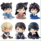 5 cm 6 Teile/Satz Detektiv Conan Sera Masumi Rachel Moore Furuya Rei Action Figure Spielzeug Puppe Box