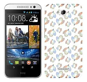 TrilMil Printed Designer Mobile Case Back Cover For HTC Desire 616