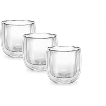 zwilling doppelwandiges glas latte macchiato 350ml 3 er set k che haushalt. Black Bedroom Furniture Sets. Home Design Ideas