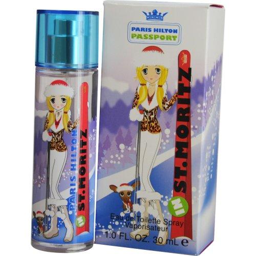 Paris Hilton Passport St. Moritz Eau De Toilette Spray for Women, 30ml