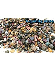 A-Quality Store Stone Gravel for Aquarium Water Fish Tank Gravel Stone Pebbles Chips for Decoration 1kg