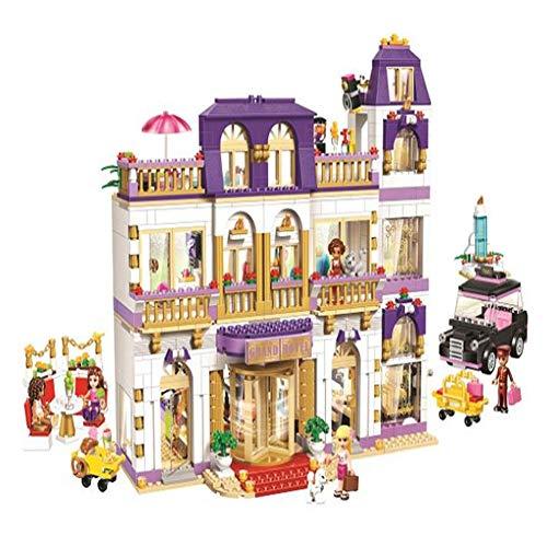 Yyz Mädchen Serie Montage Blöcke Mädchen Gute Freunde Herz Lake City Hotel Kinder Puzzle Kampf Spielen Geburtstagsgeschenk -