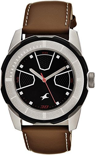 Fastrack Economy 2013 Analog Black Dial Men's Watch - 3099SL04  available at amazon for Rs.2173