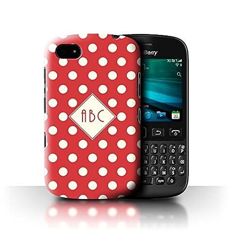 Coque Pour Blackberry 9720 - Personnalisé Polka À Pois Coutume Coque pour