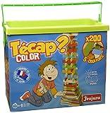 ETS JEUJURA - 8334 - Jeux de construction - Tecap color - baril de 200 planchettes