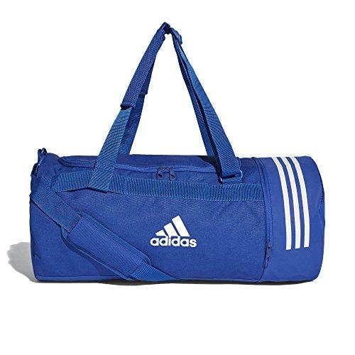 adidas Herren Convertible 3-Streifen Duffelbag Sporttasche, Croyal White, M