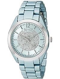 SO & CO New York SoHo 5096A.1 - Reloj de pulsera Cuarzo Mujer correa deAcero inoxidable Azul