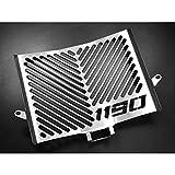 IBEX 10001723 Kühlerabdeckung Wasserkühler Kühlergrill Kühlerschutz Kühlergitter Kühlerschutzgitter Kühlerverkleidung silber Design Logo