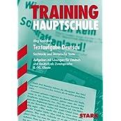 Training Haupt-/Mittelschule - Deutsch Textaufgabe 8.-10. Klasse: Sachtexte und literarische Texte - Aufgaben und Lösungen für Deutsch als Zweitsprache 8.-10. Klasse
