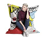 Sitzsack Brava Big Bag POP Art 130x170cm