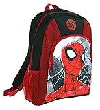 Marvel - Zaino, motivo: Spiderman, di prima qualità Rosso Red taglia unica
