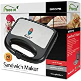 [Sponsored]Pheebs Non-Stick Grill Sandwich Maker -750 Watt, Heating Plates Sized 18.4 Cm And 9.3 Cm, Easy To Clean, Maintain With Cool Touch Handle And Lid Lock