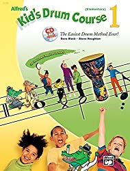 Alfred's Kid's Drum Course, Bk 1: The Easiest Drum Method Ever! (Book & CD) (Kid's Courses!) by Dave Black (2004-01-10)