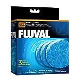 Fluval Pack de 3 Blocs de filtration fine FX pour Aquariophilie