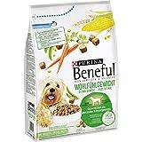 Purina Beneful Hundetrockenfutter Wohlfühlgewicht (mit Huhn, Gartengemüse und Vitaminen) 4er Pack (4 x 3kg) Beutel