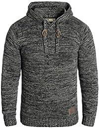 SOLID Pluto - Sweat à capuche en tricot- Homme