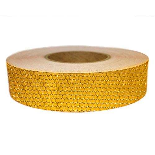 (Muchkey DIY Leuchtstoffröhre 4cm * 5m Reflektierende Warnung Aufkleber Automarke Luminous Strip Auto & Motorrad Dekoration Aufkleber Reis Rocket Candy Color (gelb))