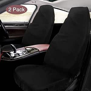 Schonbezug Autositz Mixigoo 2 Stück Sitzbezug Wasserdicht Autositzbezüge Aus Oxford Gewebe Universal Werkstattschoner Für Vordersitze Fahrersitz 130 X 55cm Auto