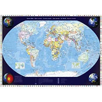 Ravensburger Portrait of the Earth 1000pc Jigsaw Puzzle Amazon