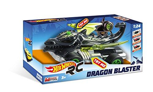 Hot Wheels-63503 Coche, Color Negro (Mondo SPA 63503