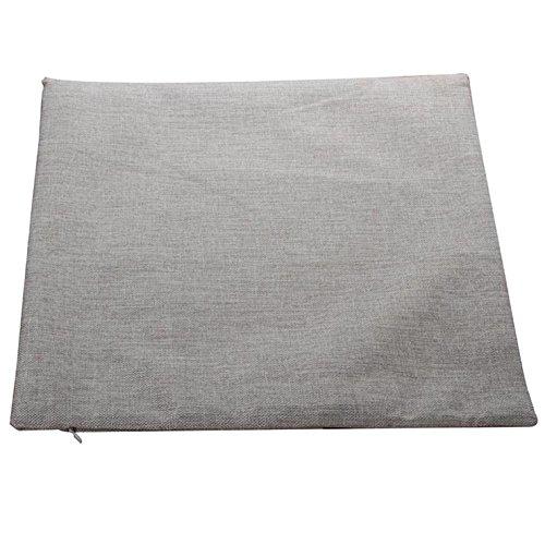 Leinenbaumwoll Kissenbezüge 45cm x 45cm in verschiedene Muster (Anker) - 2