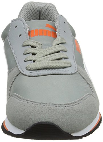 Puma Fieldsprint Nl, Baskets Da Unisexe Adultes Grigio (gris Calcaire / Blanc / Capucine)