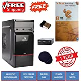 COMPUCARE365TM, Assembled Desktop PC| Intel Core I3 Processor| H61 Motherboard|4GB Ram| 1TB Sata| DVD RW|Zebronics Cabinet| Free Escan Antivirus|