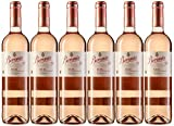 Beronia Rosado - Vino D.O.Ca. Rioja - 6 botellas de 750 ml - Total: 4500 ml