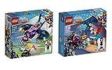 LEGO® DC Super Hero Girls Set - 41230 Batgirl auf den Fersen des Batjets + 41233 Lashinas Action-Cruiser