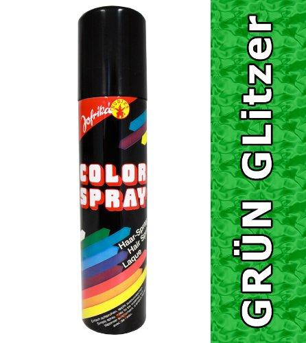 NET TOYS Glitzer Spray grün Glitterspray Haarspray grünes Colorspray Haarcoloration Haarsprays Colorsprays Haarcolorationen